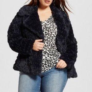 Ava & Viv Faux Fur Coat